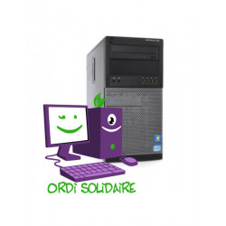 Dell Optiplex 9020 i5 Linux Desktop - Ordinateur d'occasion pas cher reconditionné garanti