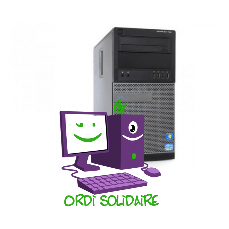 Dell Optiplex 790 Desktop I5 Windows - ordinateur occasion reconditionné Garanti 1 an