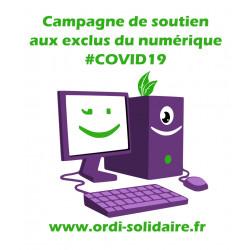 Campagne de soutien aux exclus du numérique - COVID 19