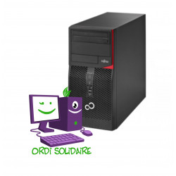 PC d'occasion reconditionné - Fujitsu Esprimo P420 E85+ Core i5 - Disque SSD 240 Go - mémoire vive 8 Go